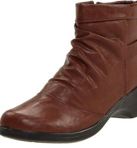Easy Street Hampshire Brown Ankle Booties